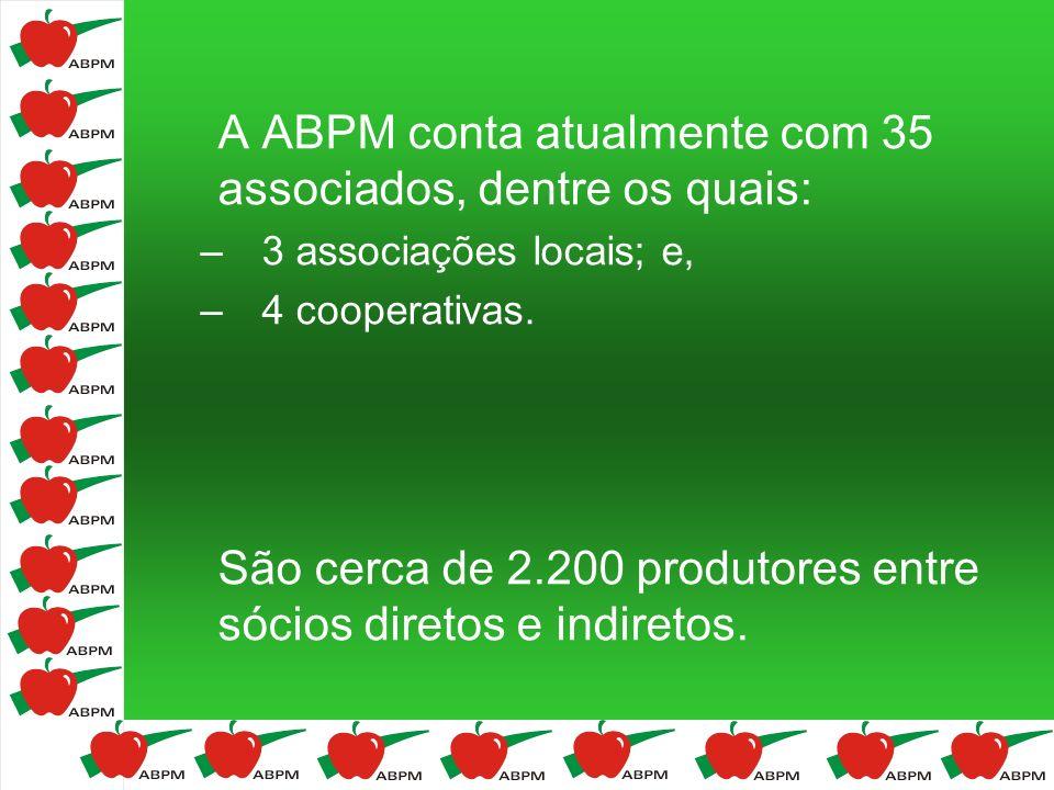 A ABPM conta atualmente com 35 associados, dentre os quais: