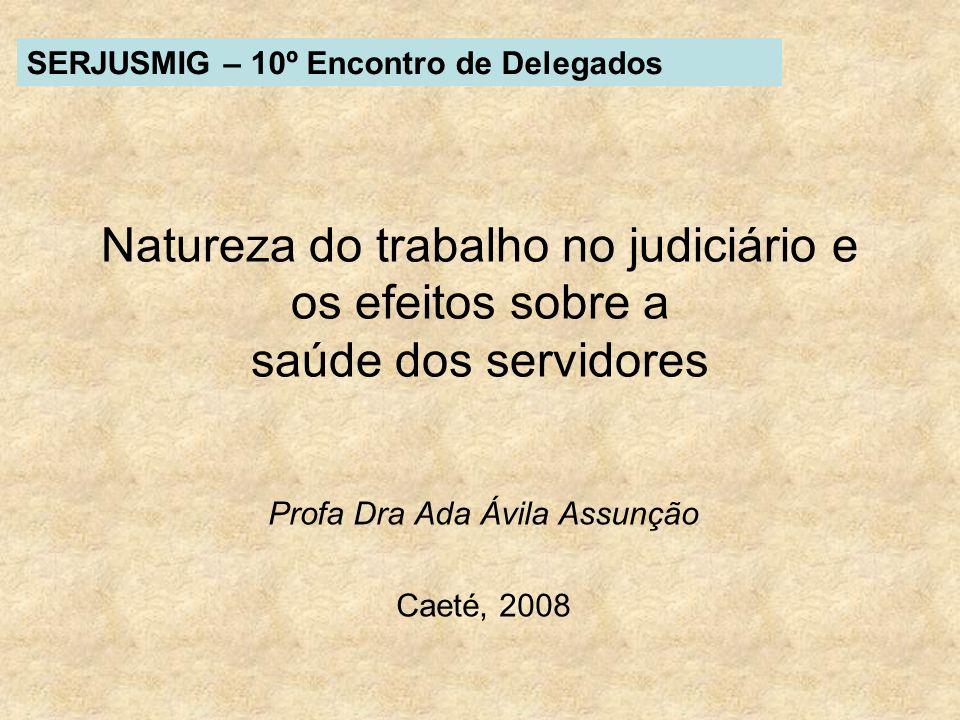 Profa Dra Ada Ávila Assunção Caeté, 2008