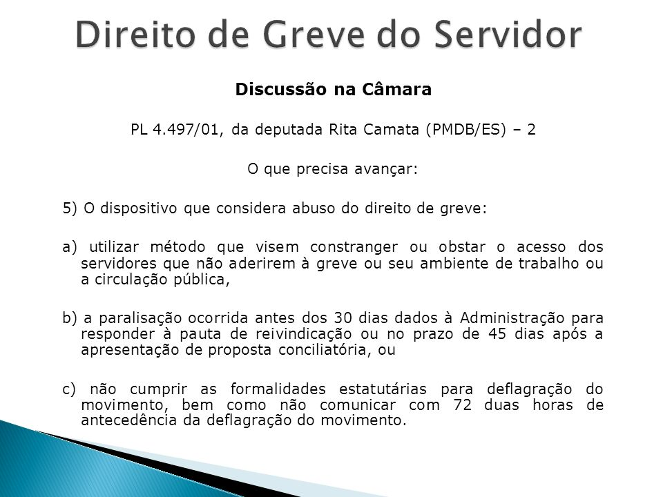PL 4.497/01, da deputada Rita Camata (PMDB/ES) – 2
