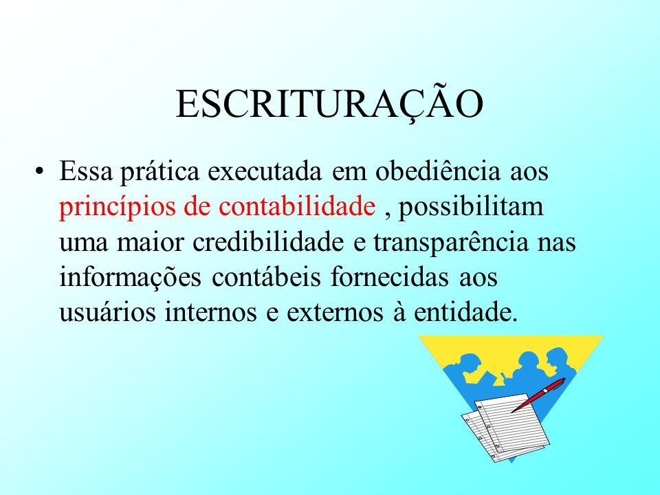 ESCRITURAÇÃO