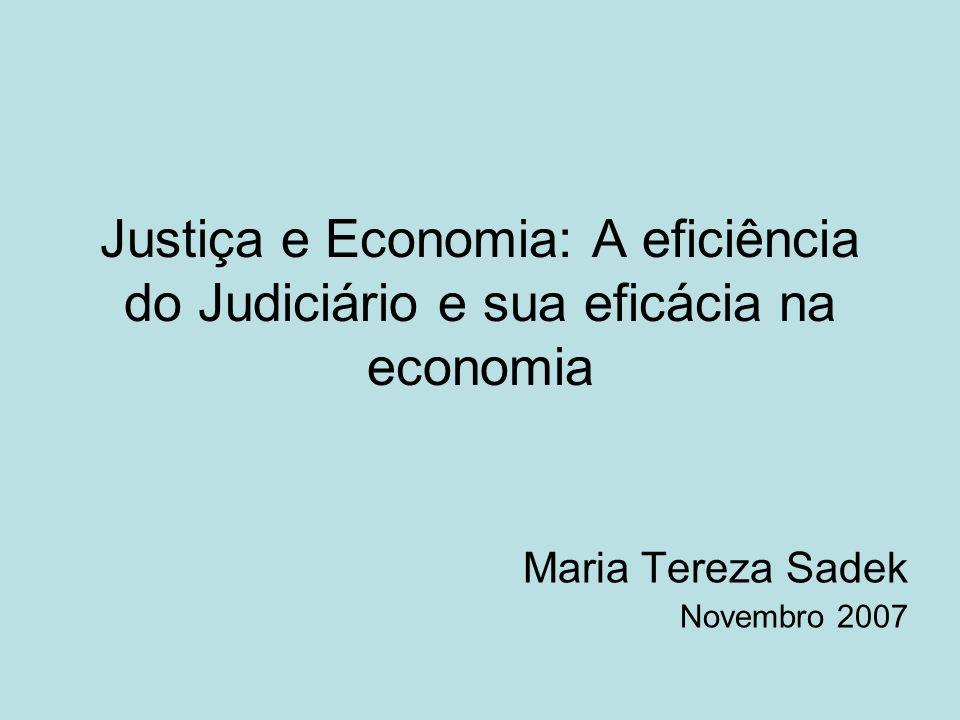 Maria Tereza Sadek Novembro 2007