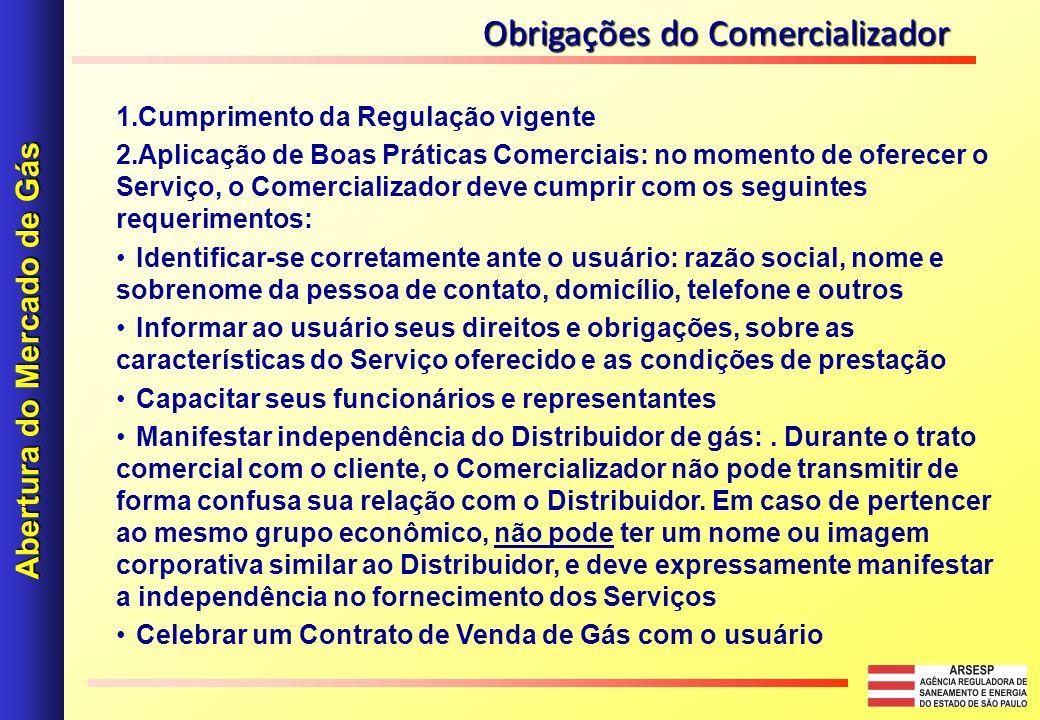 Abertura do Mercado de Gás