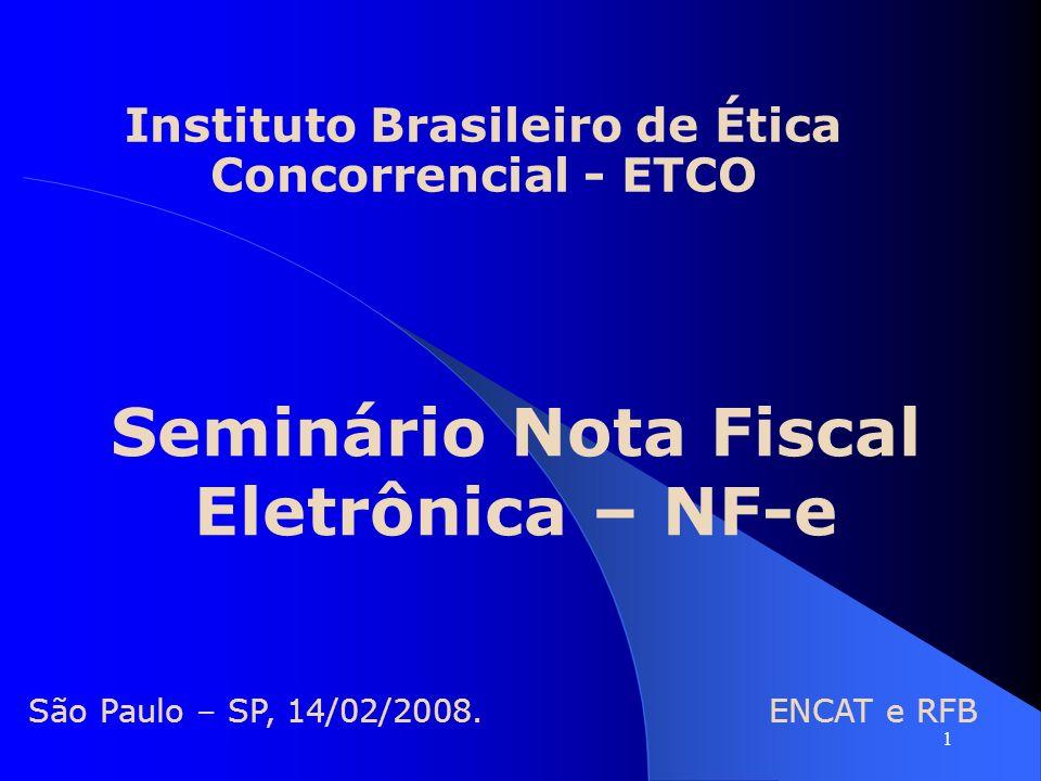 Seminário Nota Fiscal Eletrônica – NF-e