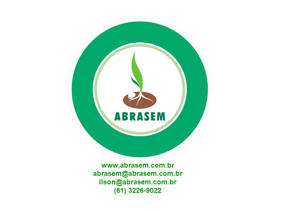 www,abrasem.com.br abrasem@abrasem.com.br ilson@abrasem.com.br (61) 3226-9022