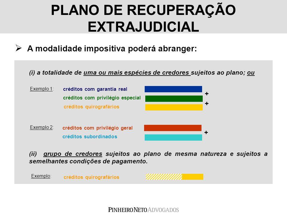 PLANO DE RECUPERAÇÃO EXTRAJUDICIAL