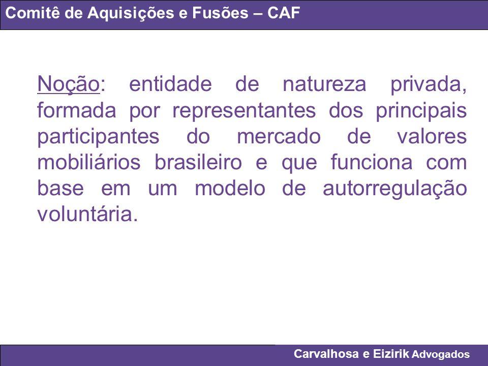 Comitê de Aquisições e Fusões – CAF