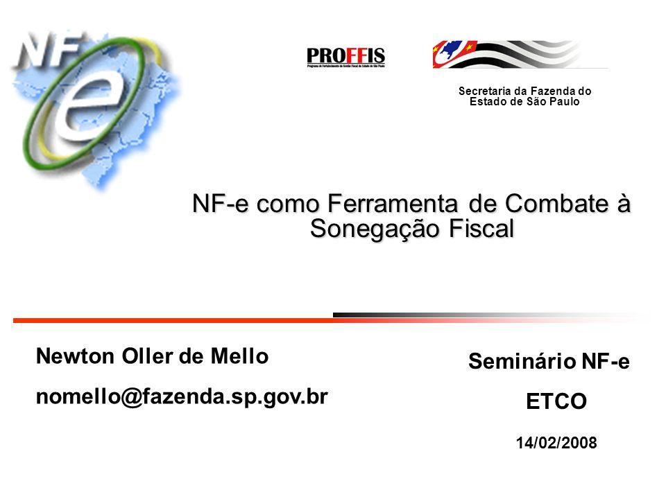 NF-e como Ferramenta de Combate à Sonegação Fiscal