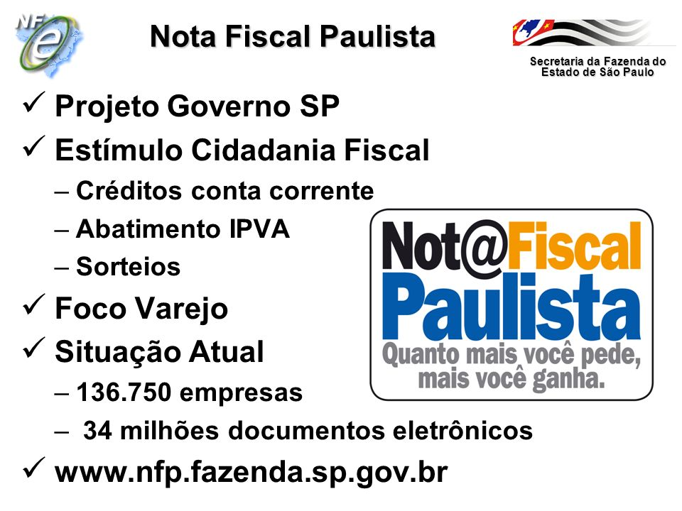 Estímulo Cidadania Fiscal
