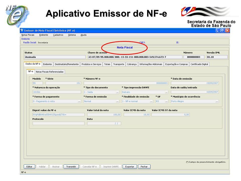 Aplicativo Emissor de NF-e