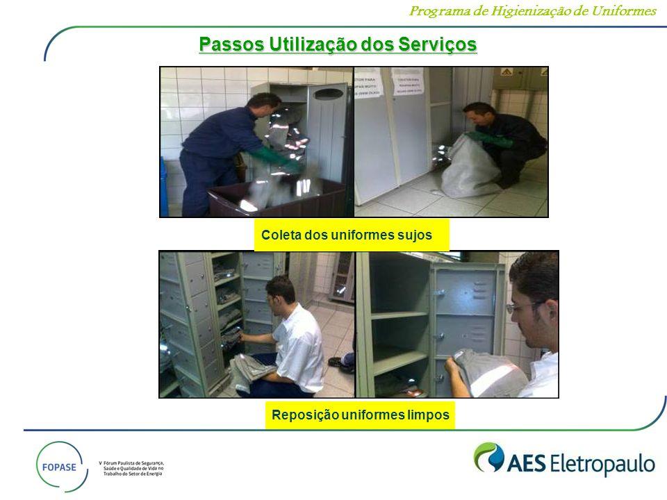 Passos Utilização dos Serviços