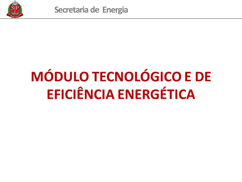 MÓDULO TECNOLÓGICO E DE EFICIÊNCIA ENERGÉTICA
