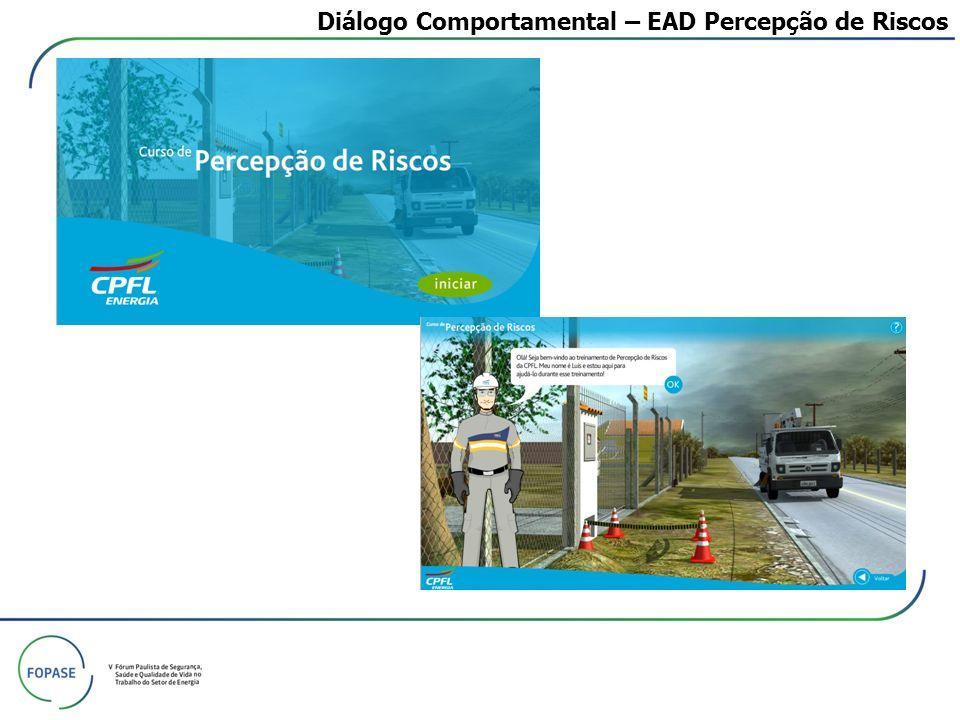 Diálogo Comportamental – EAD Percepção de Riscos
