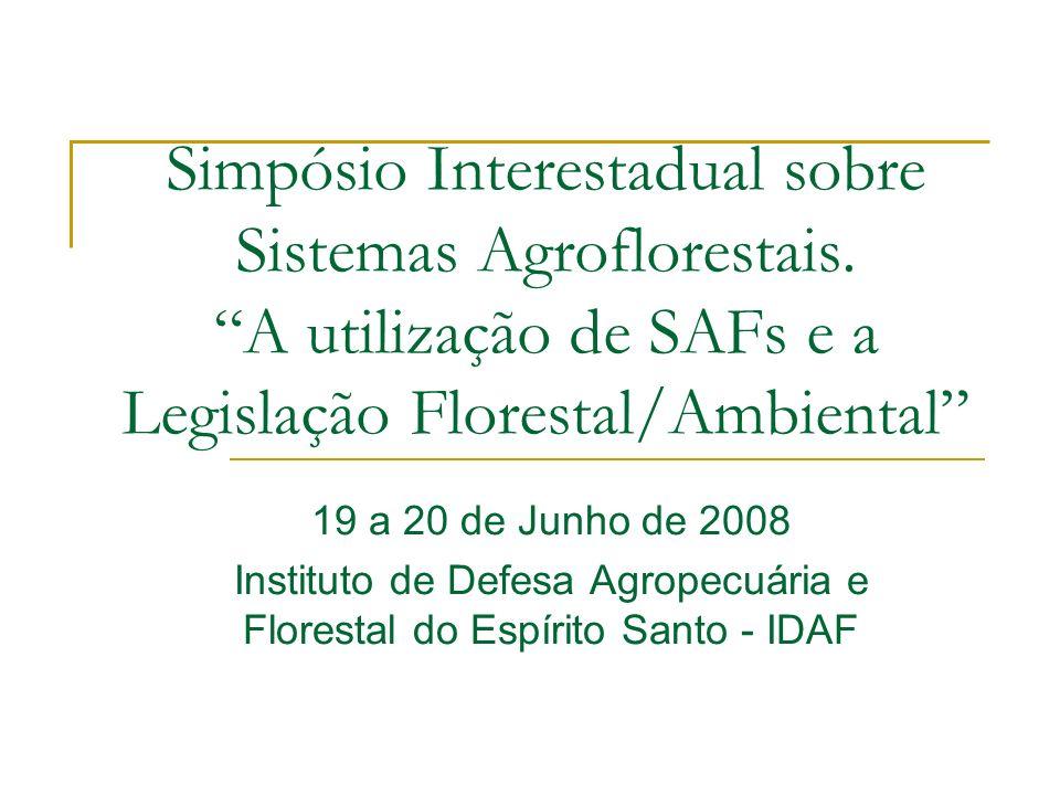Instituto de Defesa Agropecuária e Florestal do Espírito Santo - IDAF