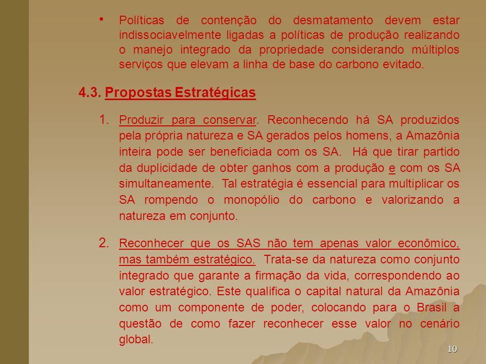 4.3. Propostas Estratégicas