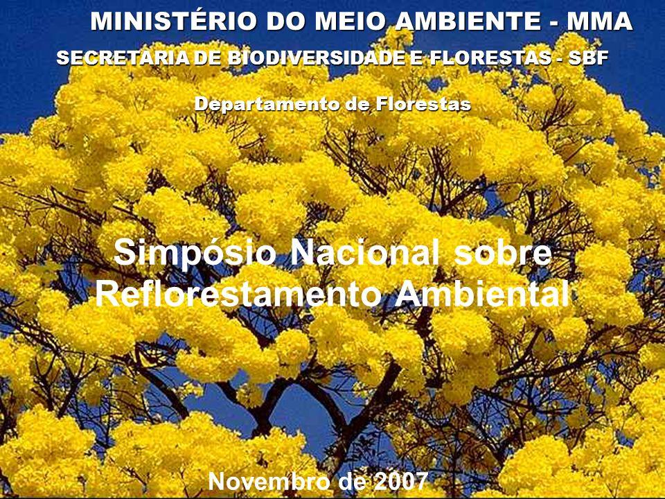 Simpósio Nacional sobre Reflorestamento Ambiental