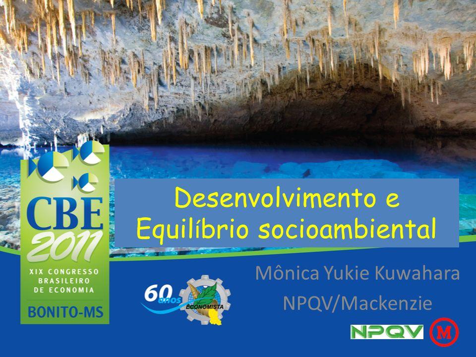 Desenvolvimento e Equilíbrio socioambiental