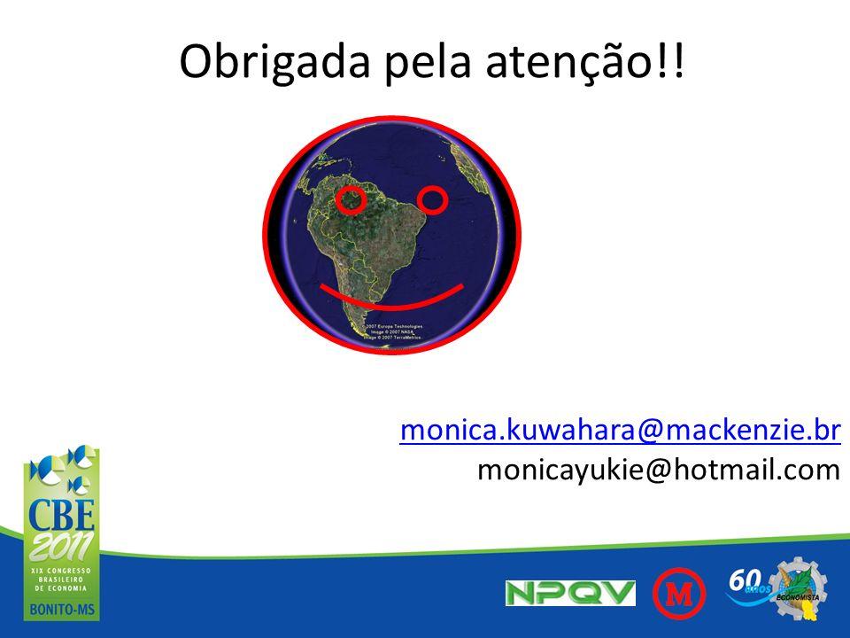 Obrigada pela atenção!! monica.kuwahara@mackenzie.br