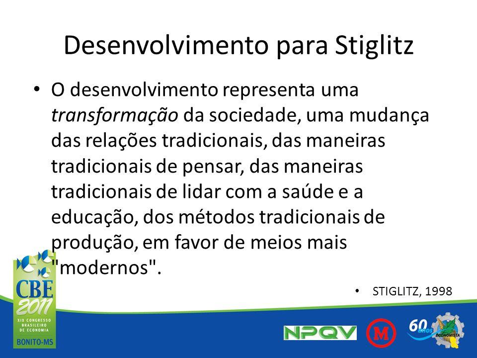 Desenvolvimento para Stiglitz