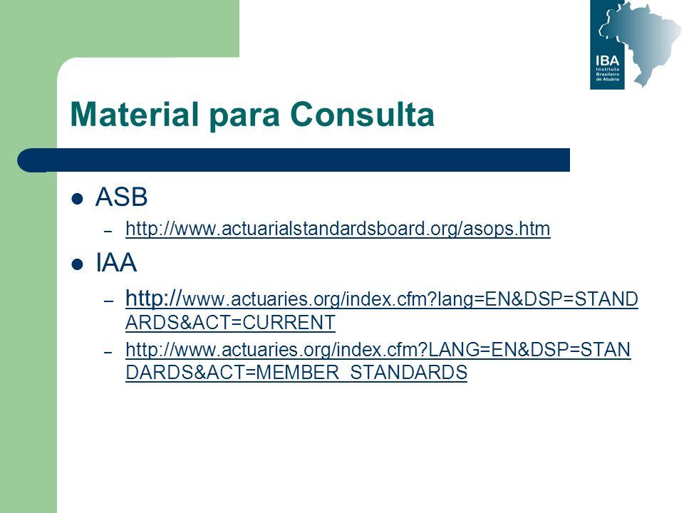 Material para Consulta