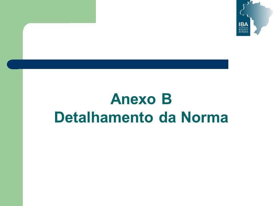 Anexo B Detalhamento da Norma
