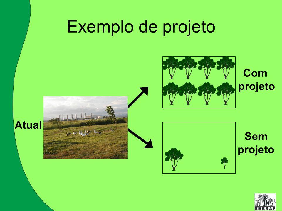 Exemplo de projeto Com projeto Sem Atual
