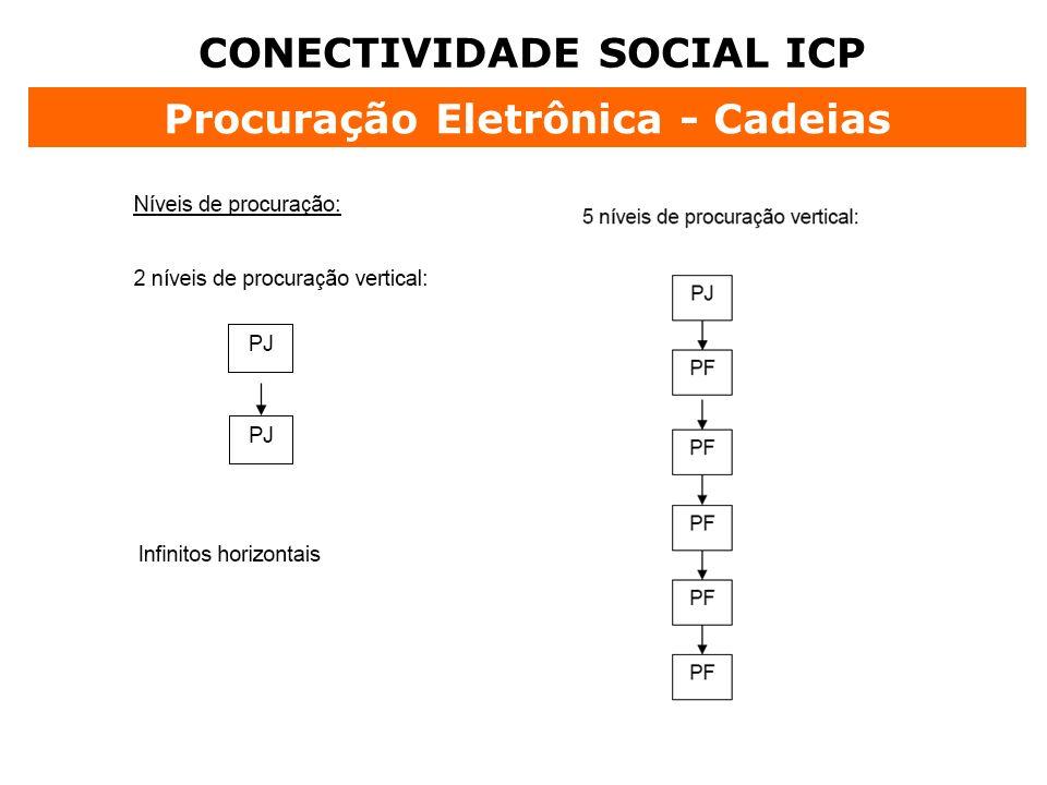 CONECTIVIDADE SOCIAL ICP Procuração Eletrônica - Cadeias