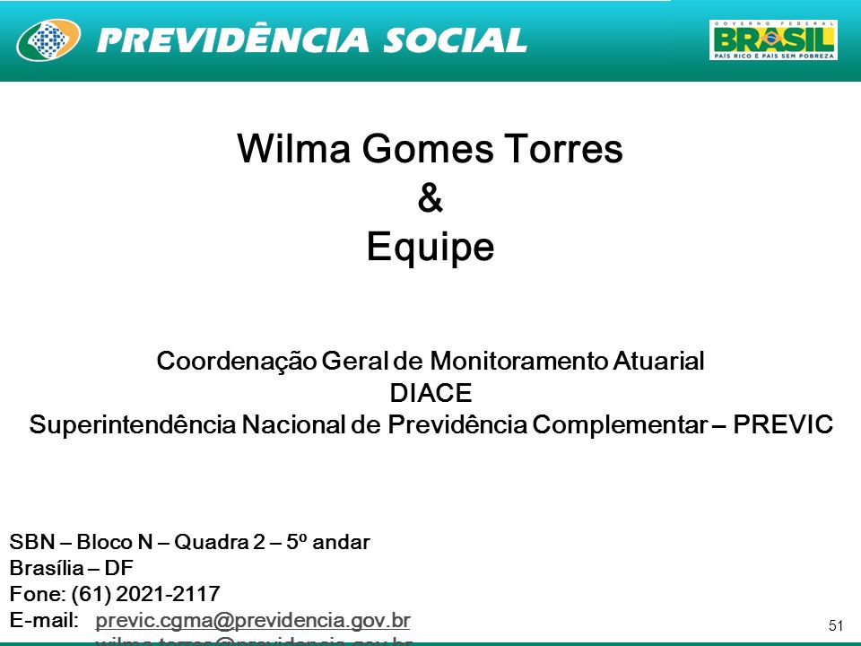 Wilma Gomes Torres & Equipe