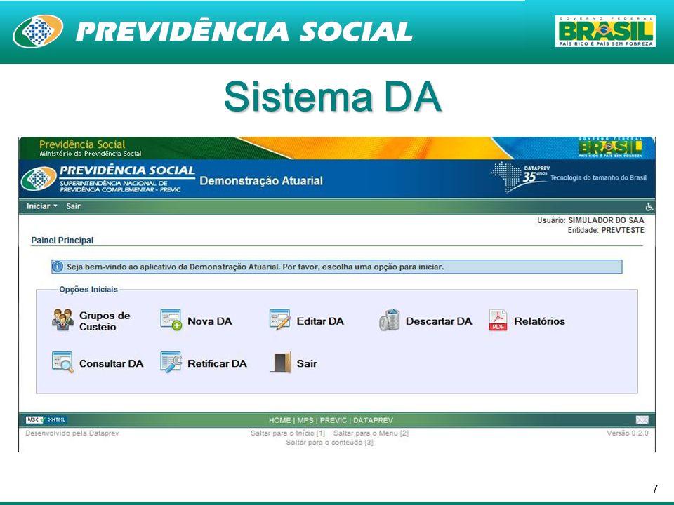 Sistema DA