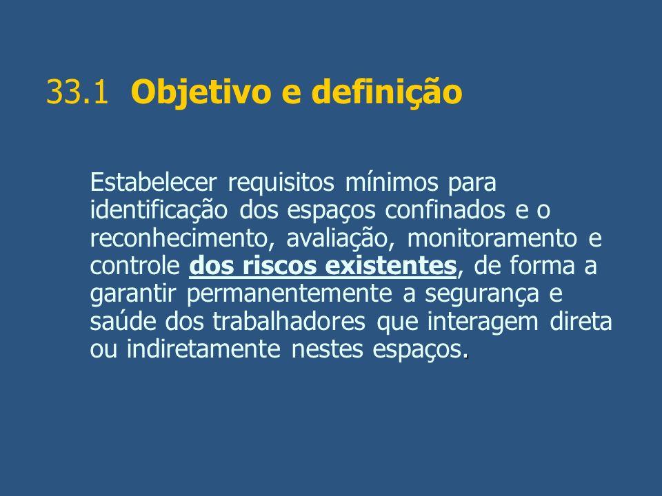33.1 Objetivo e definição