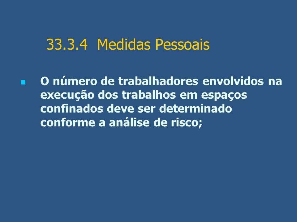 33.3.4 Medidas Pessoais