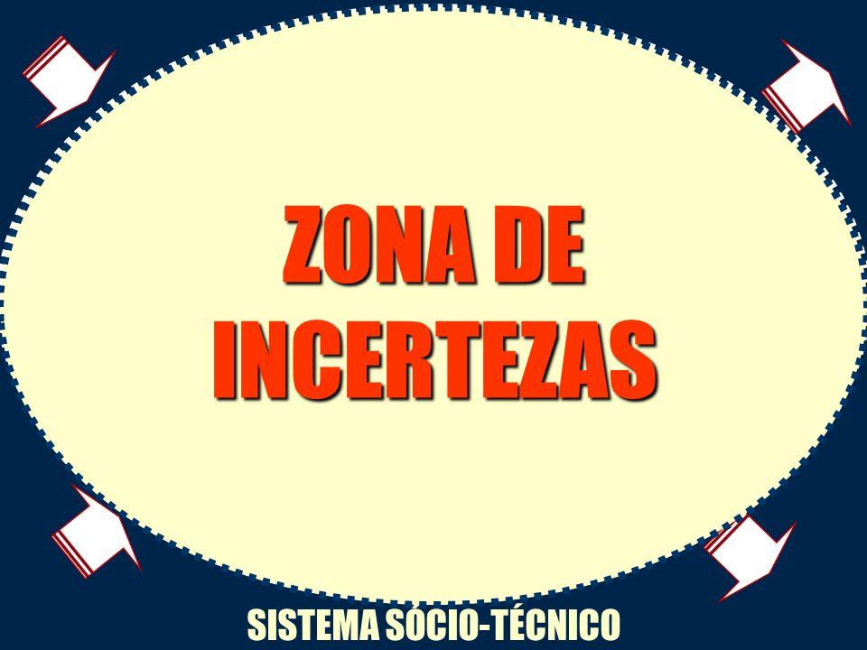 ZONA DE INCERTEZAS Variabilidade interna INTERAÇÕES