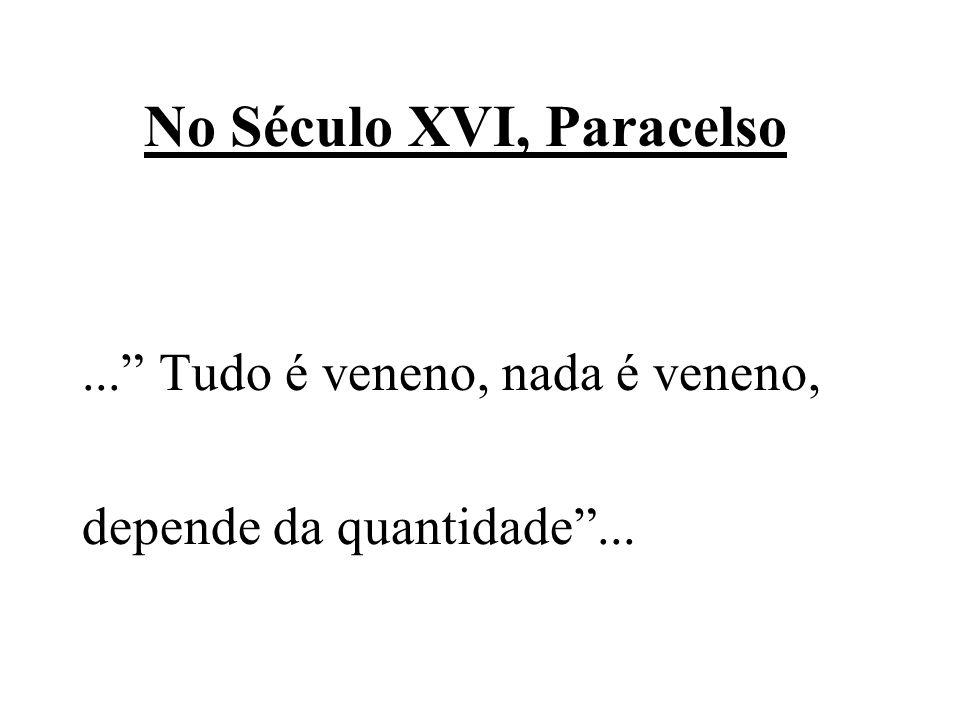 No Século XVI, Paracelso