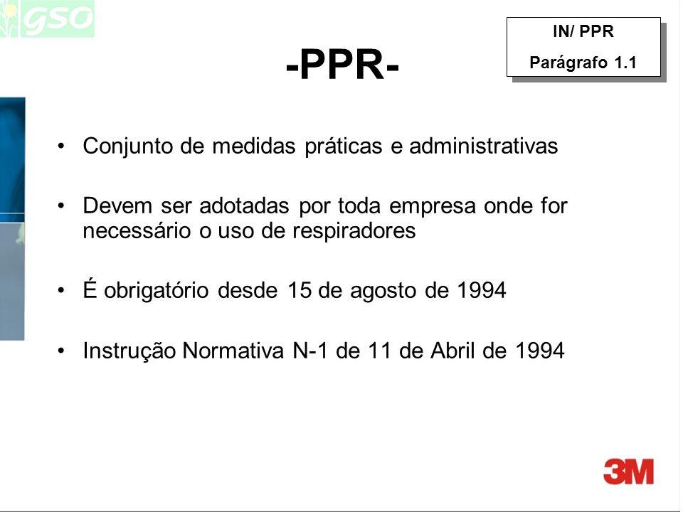 -PPR- Conjunto de medidas práticas e administrativas