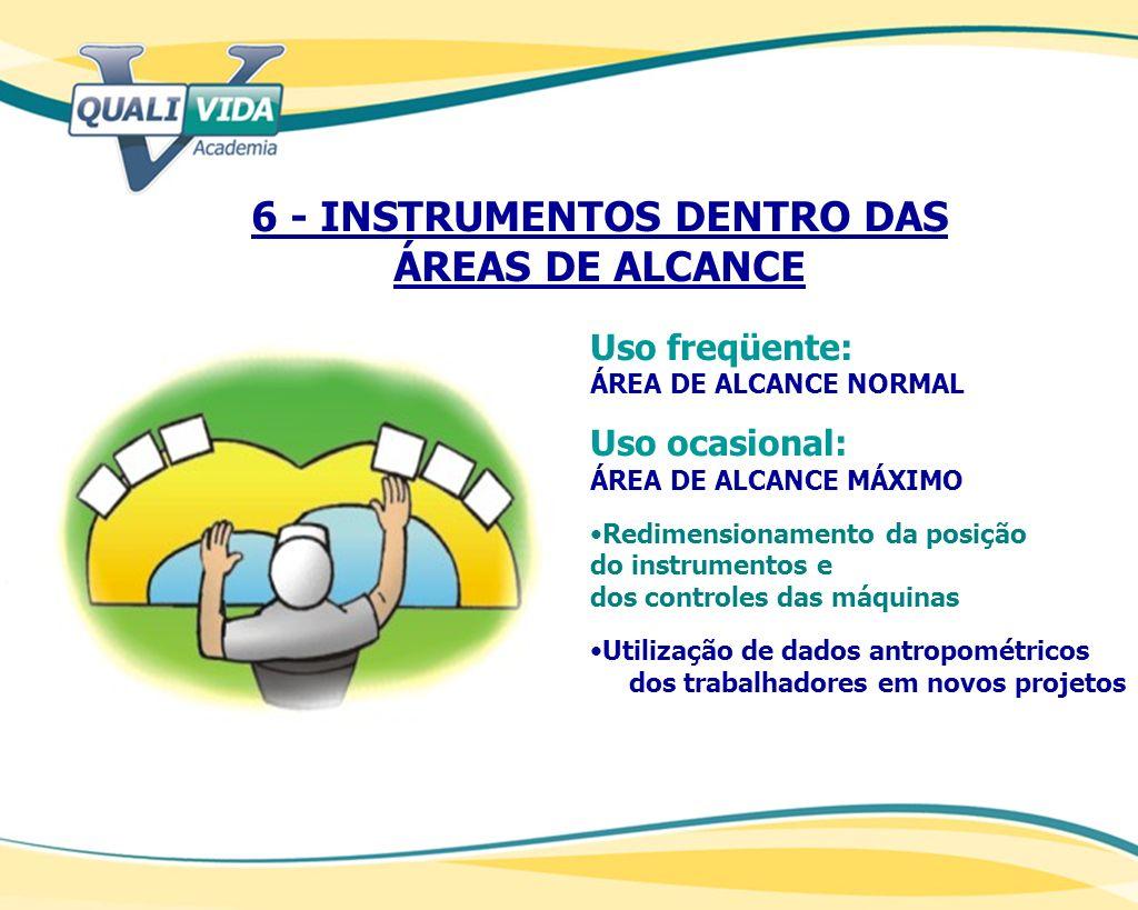 6 - INSTRUMENTOS DENTRO DAS ÁREAS DE ALCANCE