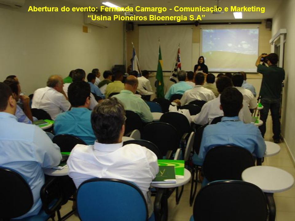 Abertura do evento: Fernanda Camargo - Comunicação e Marketing
