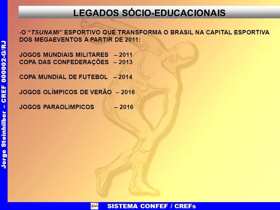 LEGADOS SÓCIO-EDUCACIONAIS