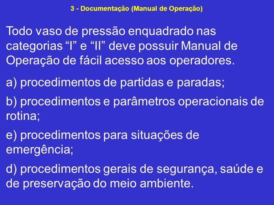 3 - Documentação (Manual de Operação)