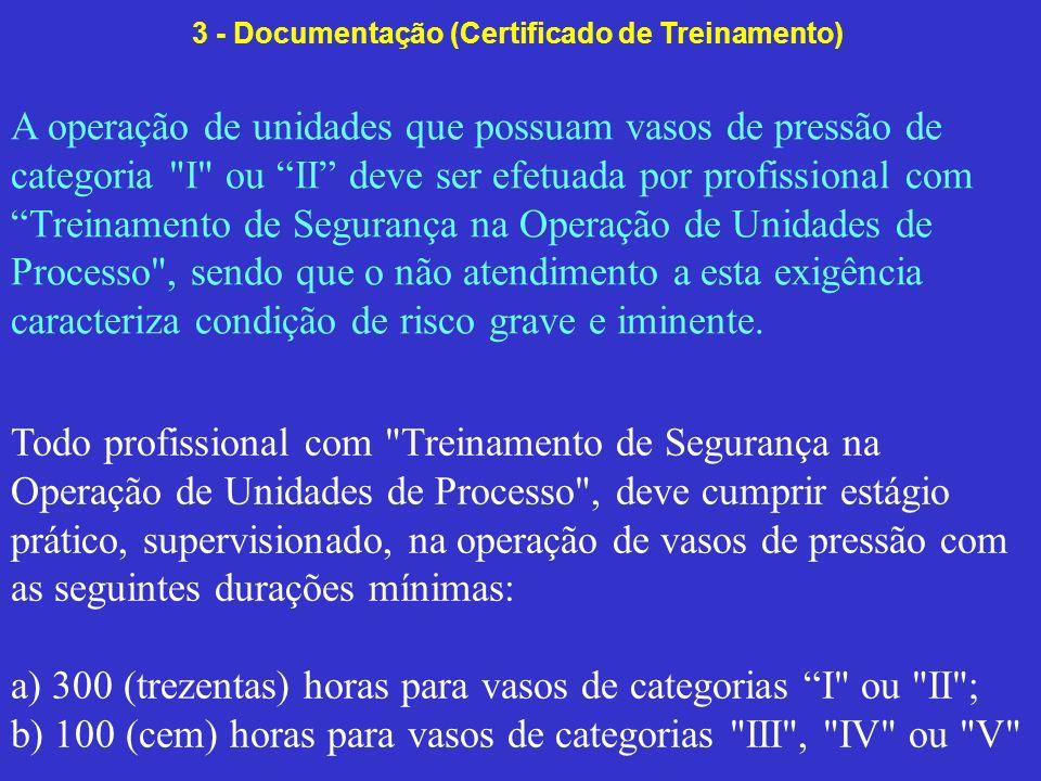 3 - Documentação (Certificado de Treinamento)