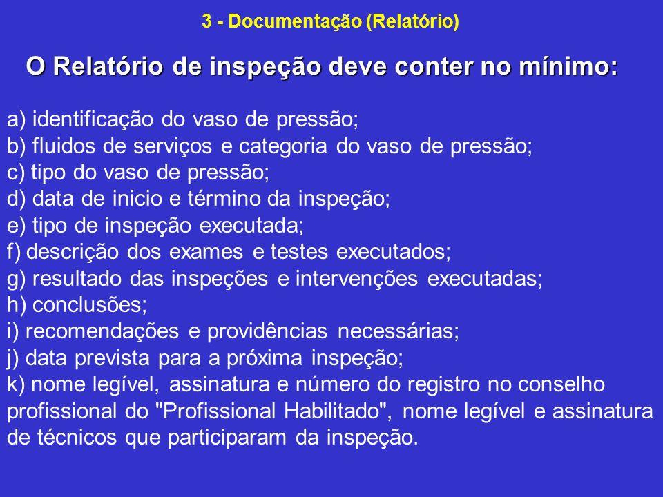 3 - Documentação (Relatório)