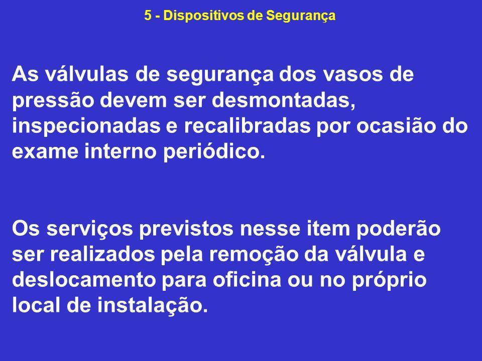 5 - Dispositivos de Segurança
