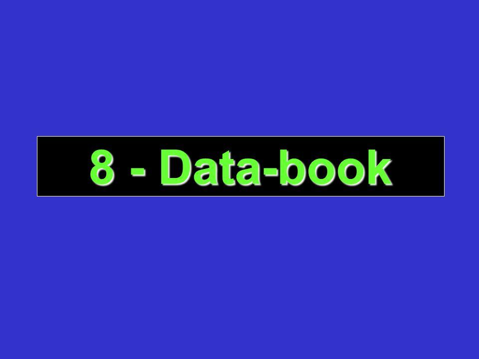 8 - Data-book