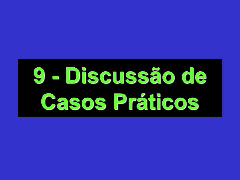 9 - Discussão de Casos Práticos
