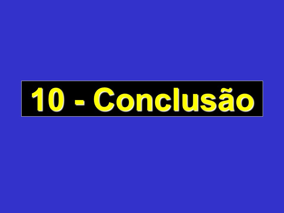10 - Conclusão