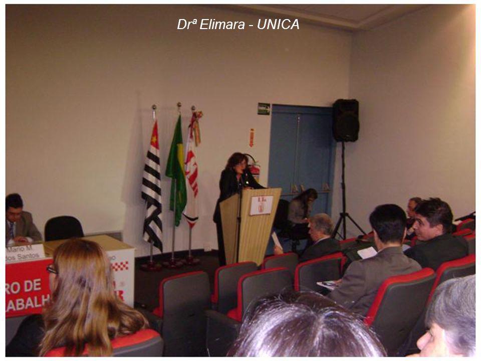 Drª Elimara - UNICA