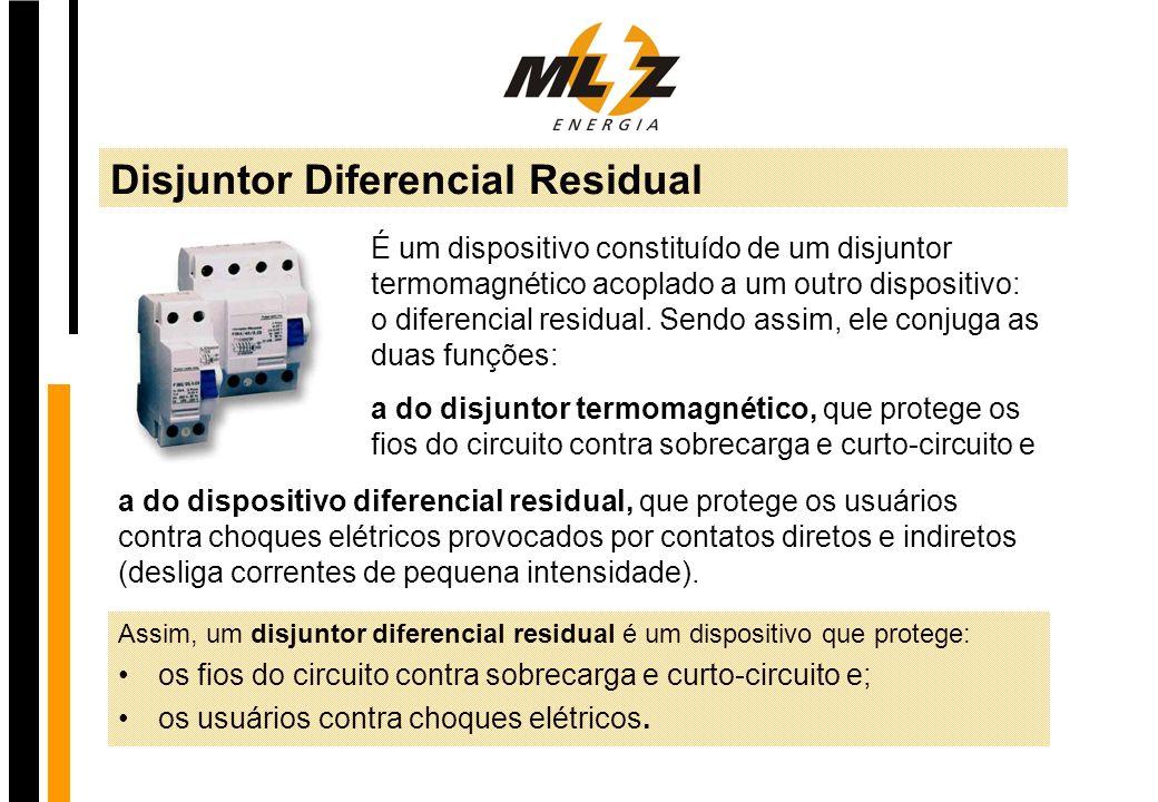 Disjuntor Diferencial Residual