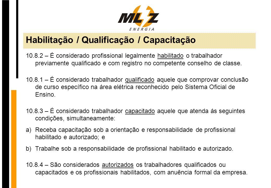 Habilitação / Qualificação / Capacitação