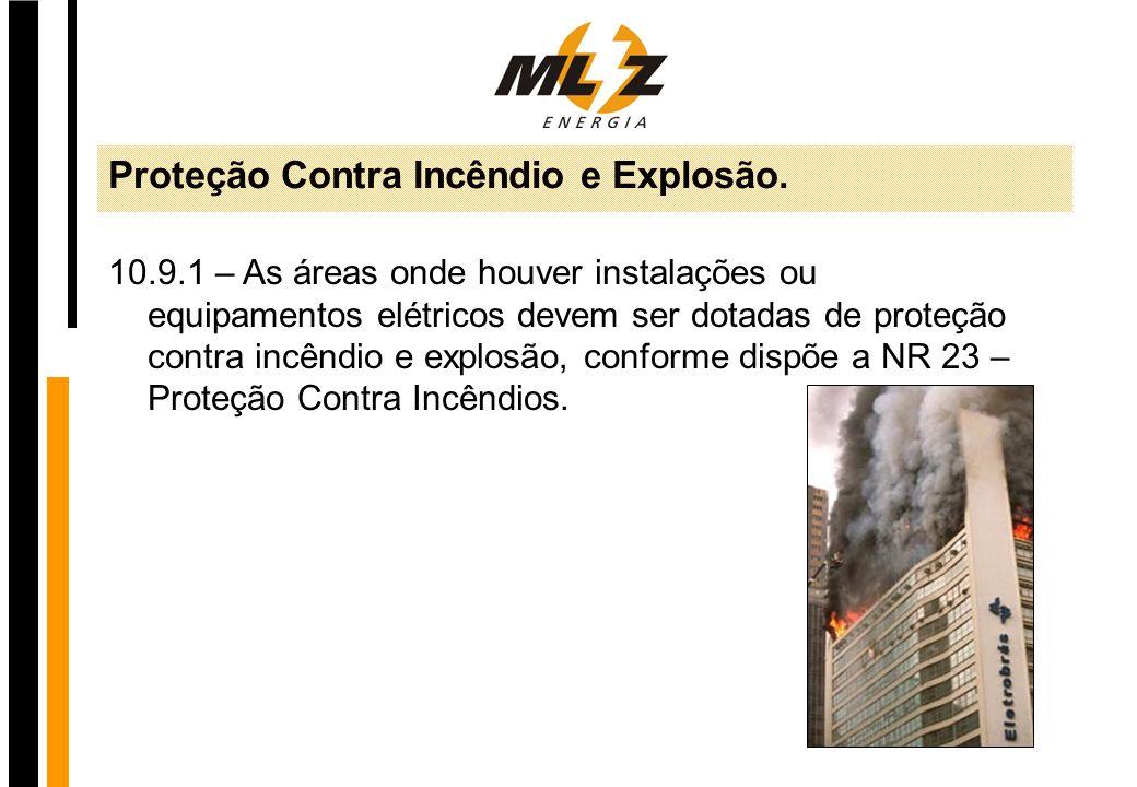Proteção Contra Incêndio e Explosão.
