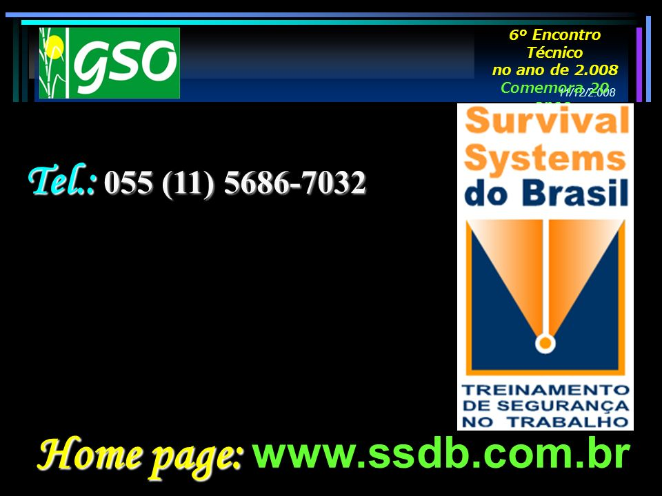 Home page: www.ssdb.com.br
