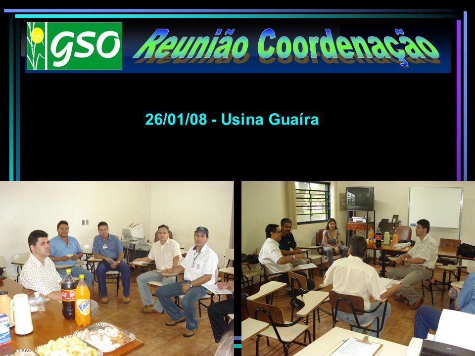 Reunião Coordenação 26/01/08 - Usina Guaíra