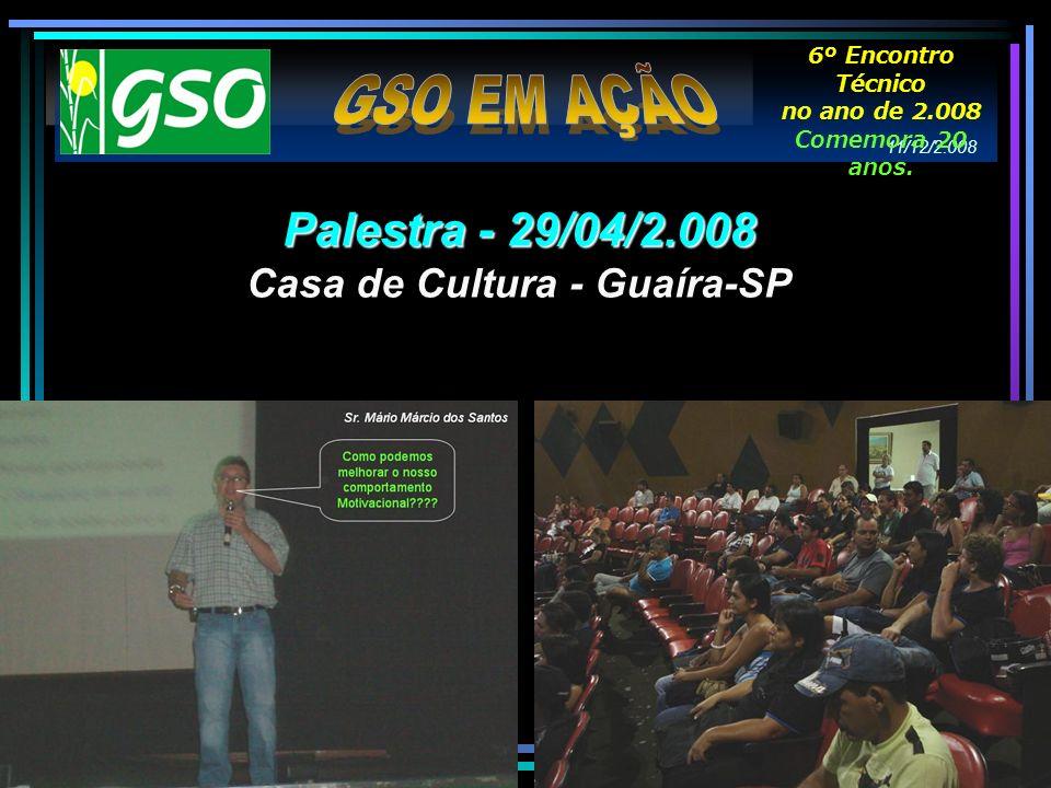 Casa de Cultura - Guaíra-SP